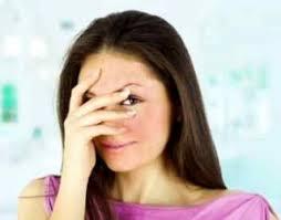 Reduce facial blushing